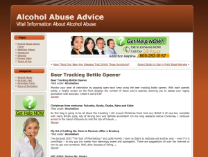 Alcohol Abuse Advice